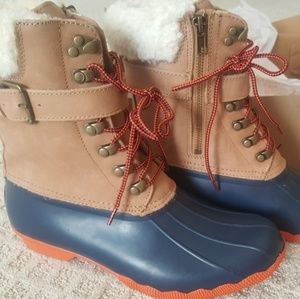 Sperry Shearwater Boots-New